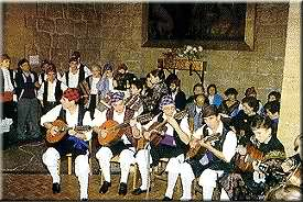 A serenade players group